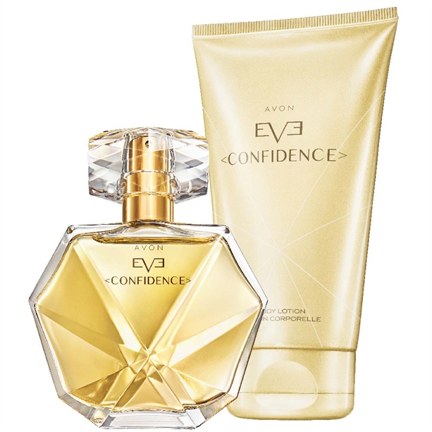 Set Apa De Parfum Si Lotiune De Corp Avon Eve Confidence Catalog