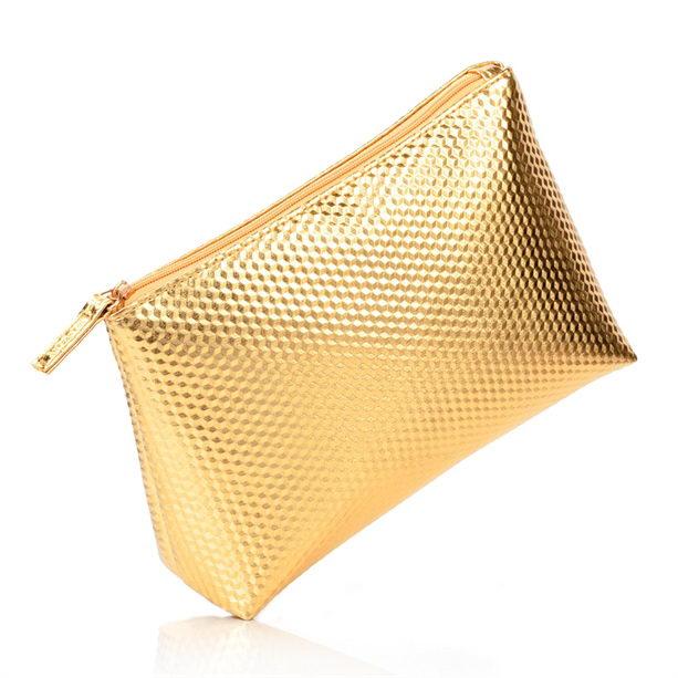 Accesorii Machiaj Portfard Auriu Luxe Catalog Avon Online