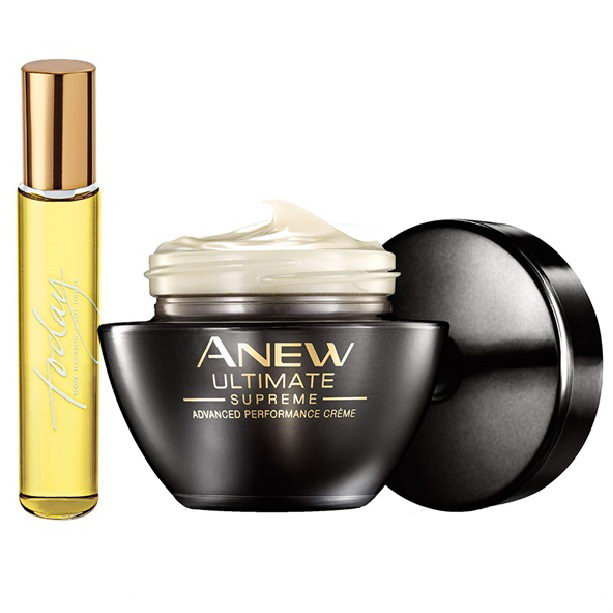 Set Mini Apa De Parfum Today Si Crema Anew Ultimate Catalog Avon