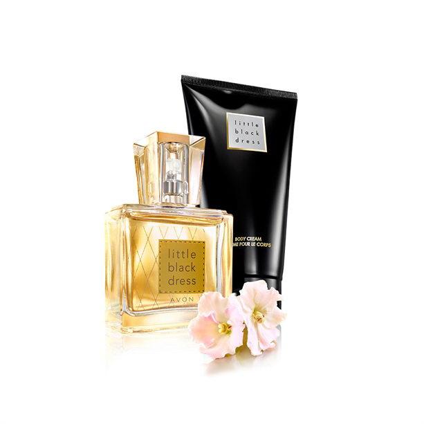 Set Little Black Dress Mini Parfum Lotiune De Corp Catalog Avon