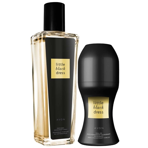 Set Spray Parfumat Si Deodorant Cu Bila Little Black Dress Catalog