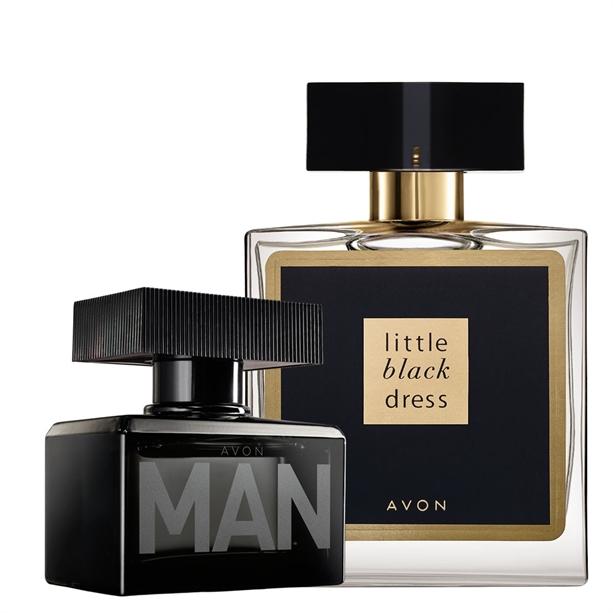 Os Set Apa De Toaleta Avon Man Si Apa De Parfum Little Black Dress