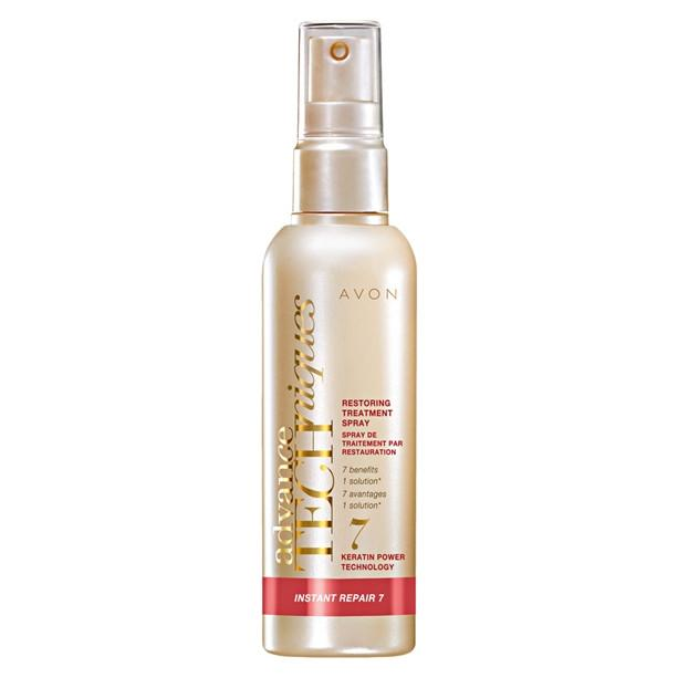 OS - Advance Techniques Spray tratament leave-in cu extract de cheratina Instant Repair 7 - Catalog Avon