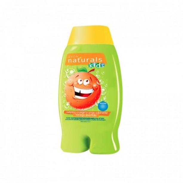 OS - Gel de dus si spumant de baie pentru copii cu aroma de portocale Natural Kids - Catalog Avon