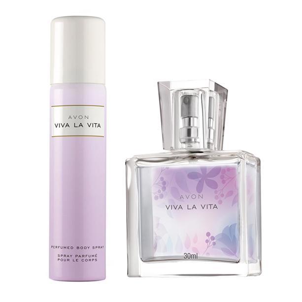 OS - Set Mini-apa de parfum - 30 ml si Deodorant Viva la Vita - Catalog Avon