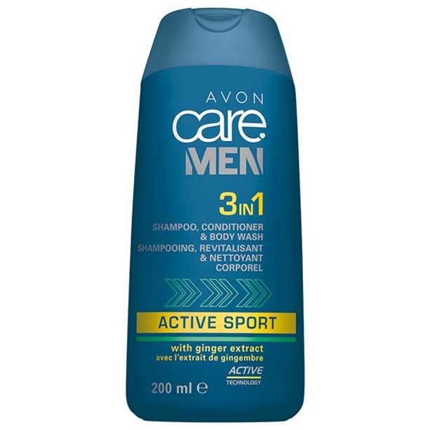 3 in 1 Sampon, balsam si gel de dus Avon Care Men Active Sport - Catalog Avon