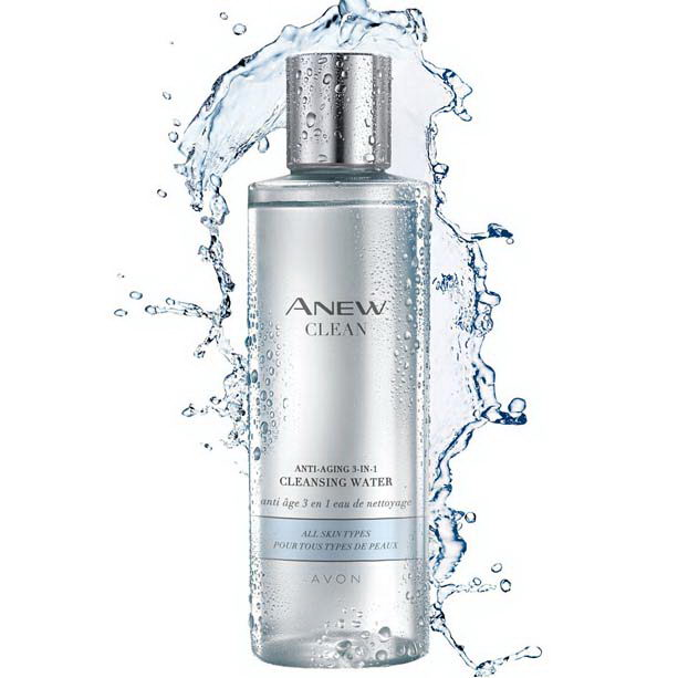Apa de curatare anti-aging 3 in 1 Anew Clean - Catalog Avon