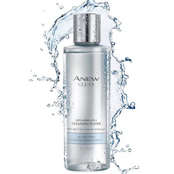 Apa de curatare anti-aging 3 in 1 Anew Clean - Catalog Avon