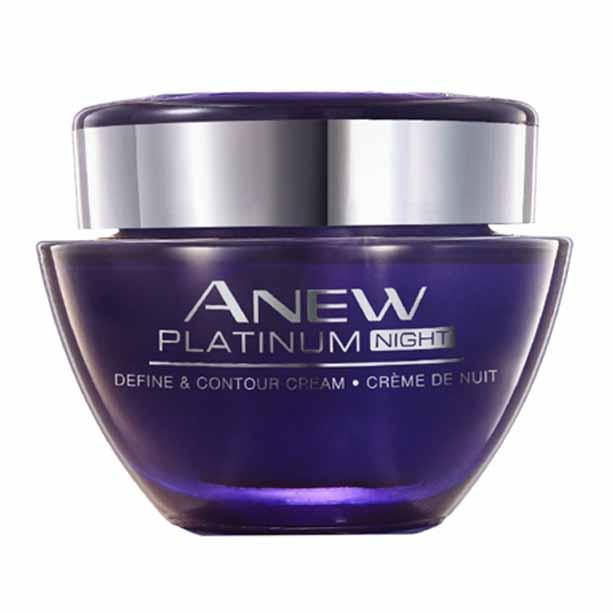 Crema de noapte Anew Platinum Define and Contour - Catalog Avon