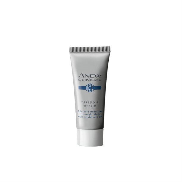 Masca de noapte cu acid Hialuronic 3-x Defend and Repair - Catalog Avon