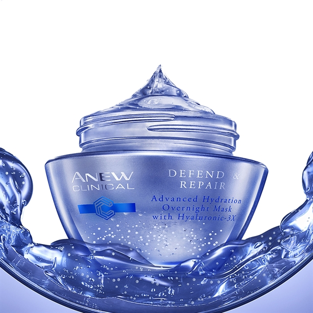 Masca hidratanta peste noapte Anew Clinical Defend - Catalog Avon