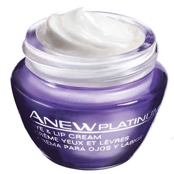 Crema pentru conturul ochilor si buzelor Anew Platinum 55+ - Catalog Avon