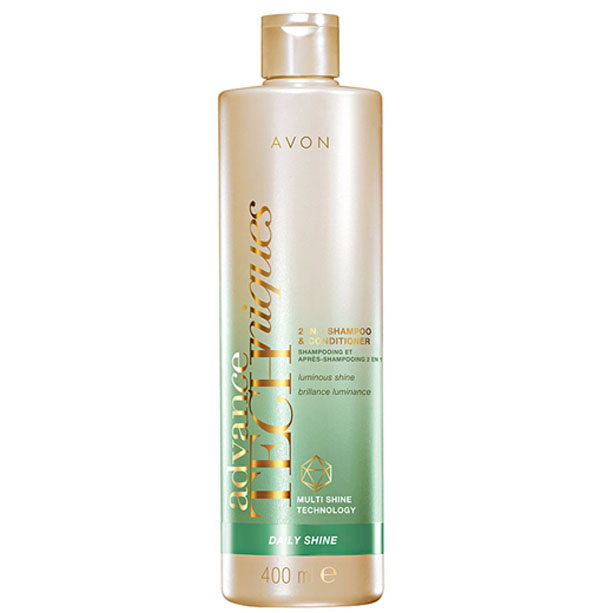 Advance Techniques 2 in 1 Sampon si balsam Daily Shine 400 ml - Catalog Avon