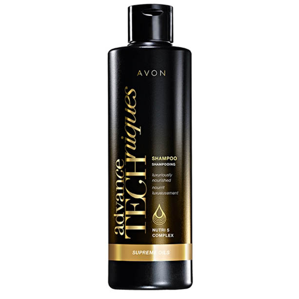 Advance Techniques Sampon Supreme Oils cu complexul Nutri 5 - 250 ml - Catalog Avon