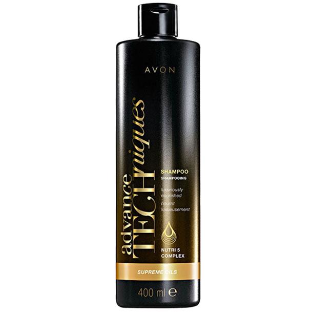 Advance Techniques Sampon Supreme Oils cu complexul Nutri 5 - 400 ml - Catalog Avon