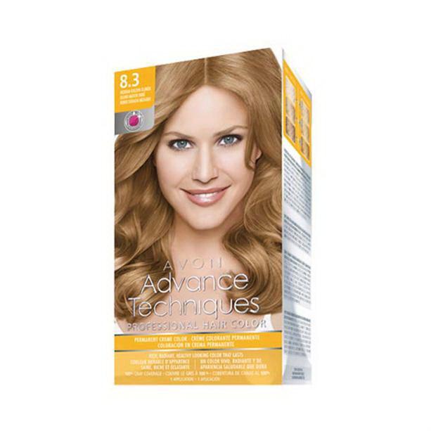 Vopsea de par profesionala Blond auriu 8.3 - Catalog Avon
