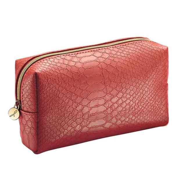 Geanta rosie pentru cosmetice - Catalog Avon