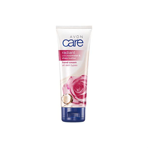 Crema de maini Avon Care cu apa de trandafiri si unt de shea - Catalog Avon