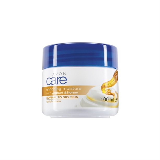 Crema de fata Avon Care cu iaurt si miere - Catalog Avon