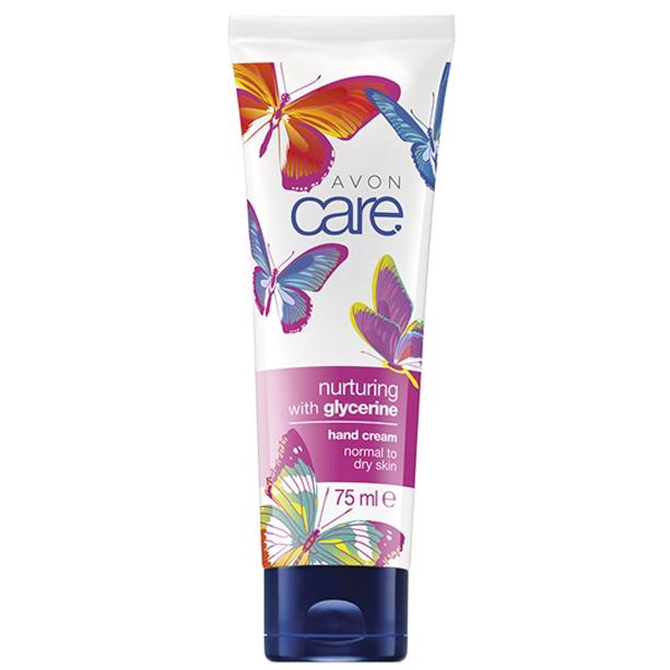 Crema de maini Avon Care cu ulei de migdale si glicerina - Catalog Avon