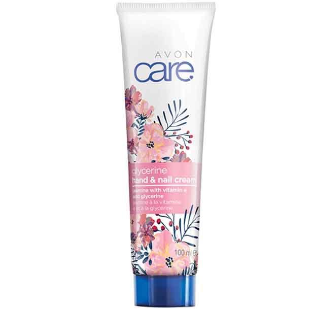 Crema pentru maini, unghii si cuticule Avon Care cu glicerina, iasomie si vitamina E **** - Catalog Avon