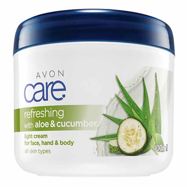 Crema multifunctionala Avon Care cu aloe si castravete - Catalog Avon