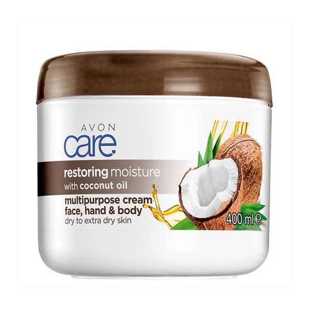 Crema multifunctionala Avon Care cu ulei de cocos - Catalog Avon