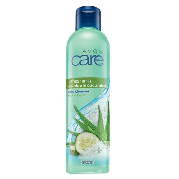 Lotiune de curatare cu aloe si castravete Avon Care Refreshing - Catalog Avon