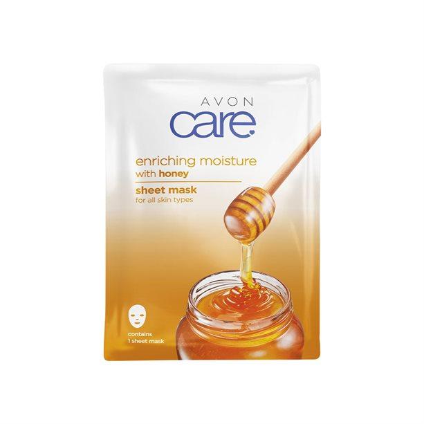 Masca de fata individuala Avon Care cu miere - Catalog Avon