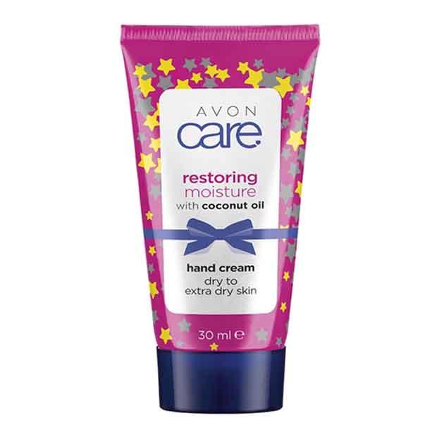 OS - Mini crema de maini Avon Care cu ulei de cocos - Catalog Avon