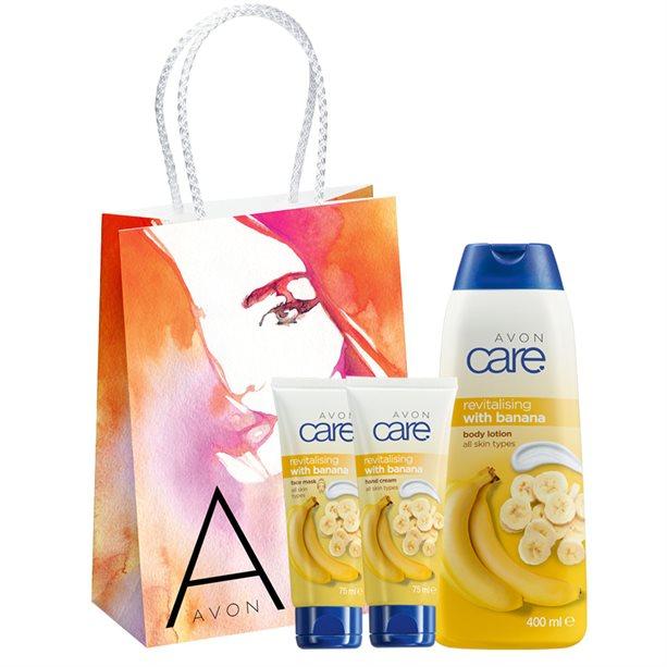 Set 3 produse Avon Care cu aroma de banane - Catalog Avon