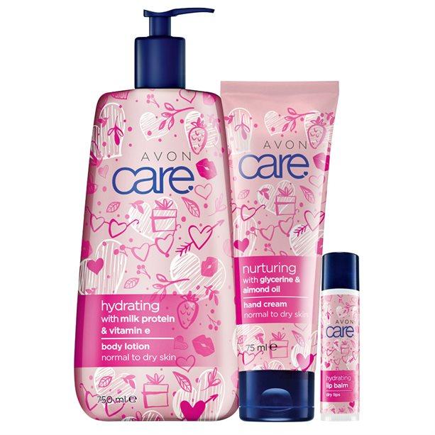Set de 3 produse Avon Care Hydrating - Catalog Avon