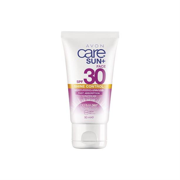 Crema hidratanta Avon Care Sun SPF 30 UVA/UVB Shine Control - Catalog Avon