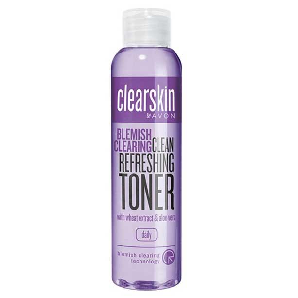 Lotiune tonica cu extract de aloe vera pentru indepartarea petelor Clearskin - Catalog Avon
