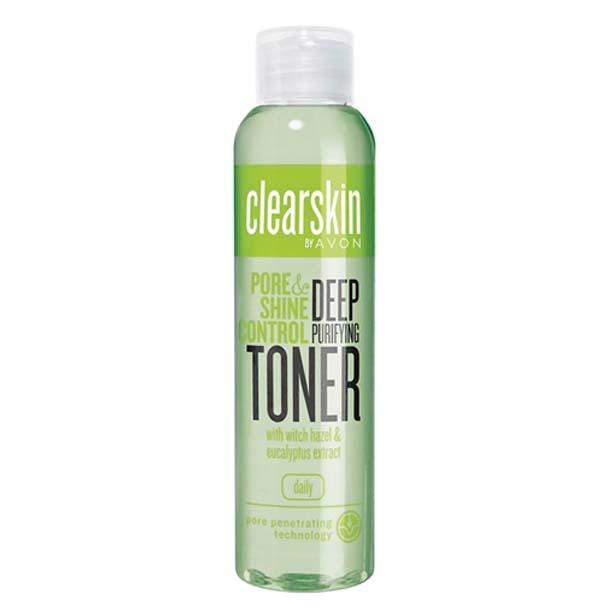 Lotiune tonica cu extract de eucalipt pentru purificarea porilor Clearskin - Catalog Avon