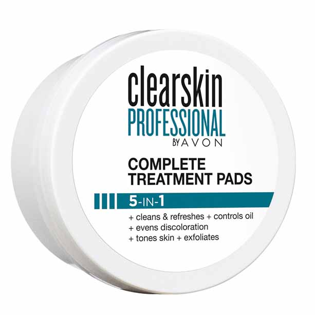 Dischete Complete Treatment 5 in 1 Clearskin Professional - Catalog Avon