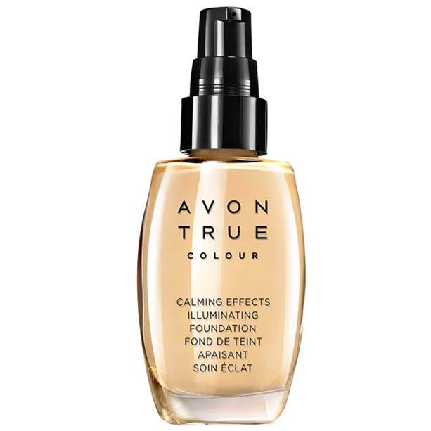 Fond de ten cu efect iluminator True Colour Calming Effects - Catalog Avon