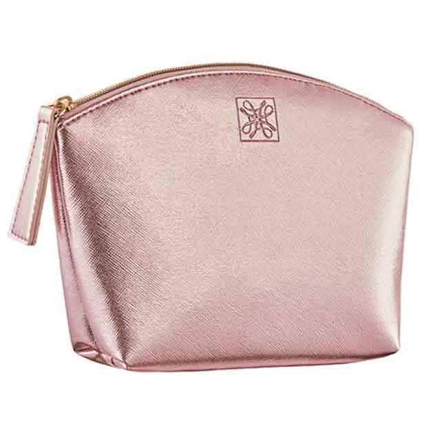 Geanta pentru cosmetice - roz metalic - Catalog Avon