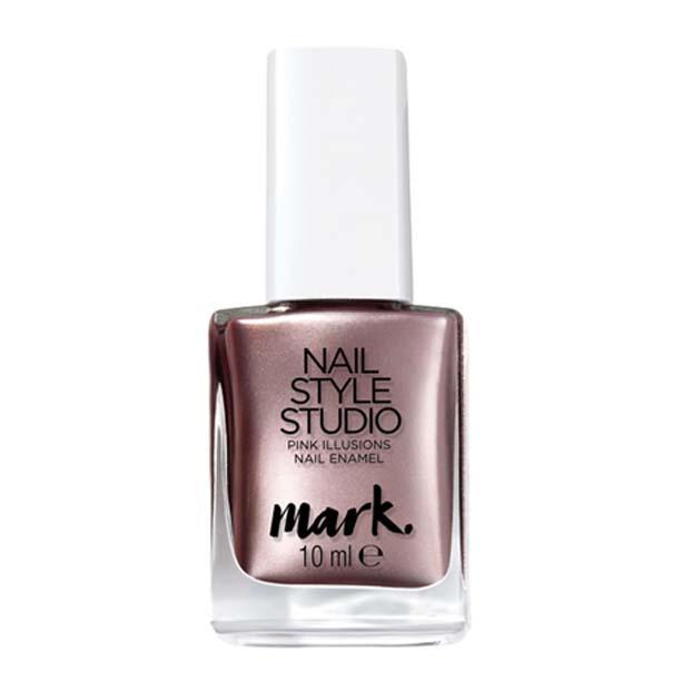 OS - Lac de unghii mark. Nail Style Studio Pink Illusions - Catalog Avon