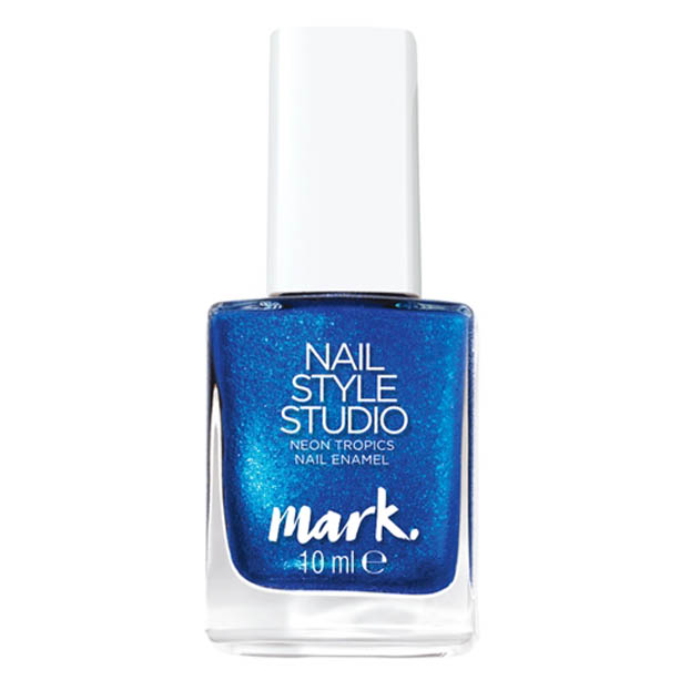 OS - Lac de unghii mark. Studio Neon Tropics - Nuanta Red Shock - Catalog Avon