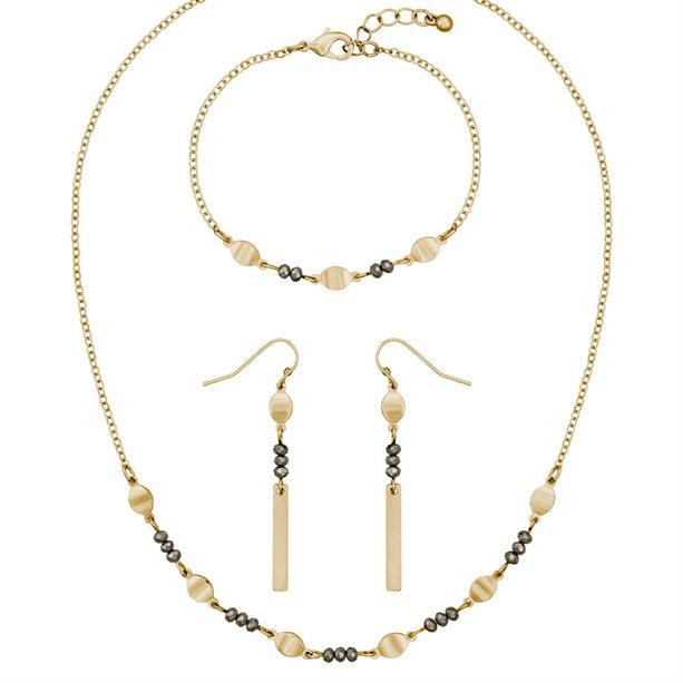 Set de 3 bijuterii Jacinta - Catalog Avon