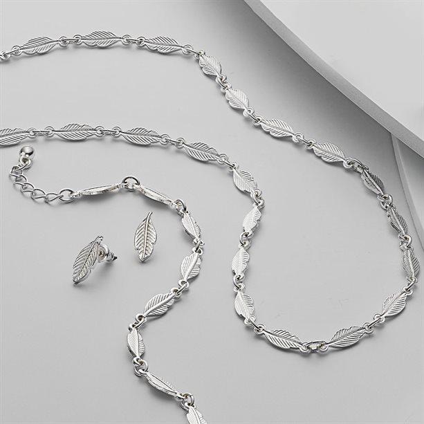 Set Eda 3 bijuterii cu frunze - Catalog Avon