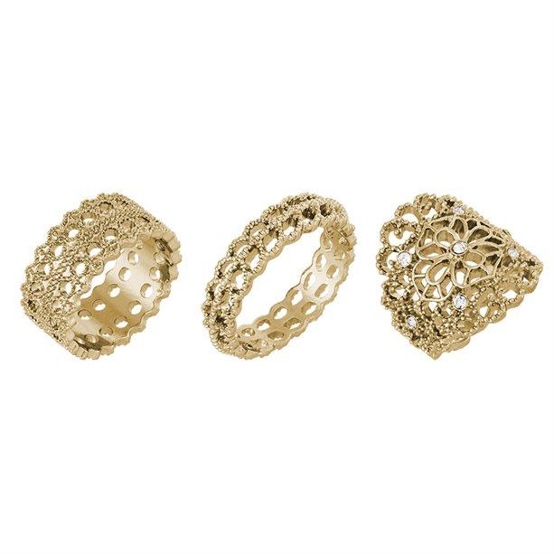 Set de inele Geneva - auriu - Catalog Avon