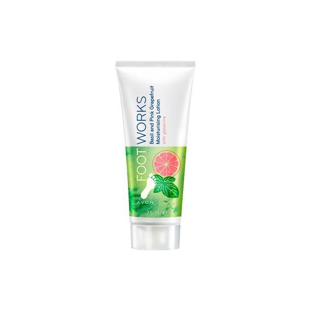 Crema hidratanta pentru picioare cu busuioc si grepfruit Footworks - Catalog Avon