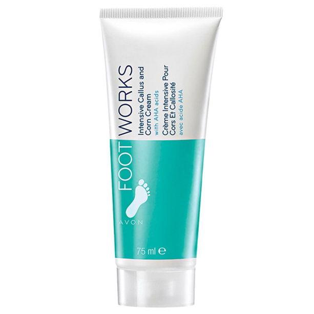 Crema intens hidratanta pentru tratarea bataturilor Footworks - Catalog Avon