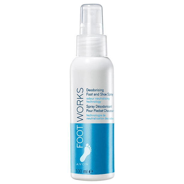 Spray pentru picioare si incaltaminte Footworks - Catalog Avon