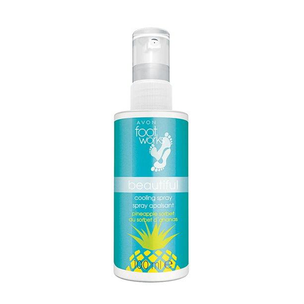 Spray racoritor pentru picioare cu extract de ananas - Catalog Avon