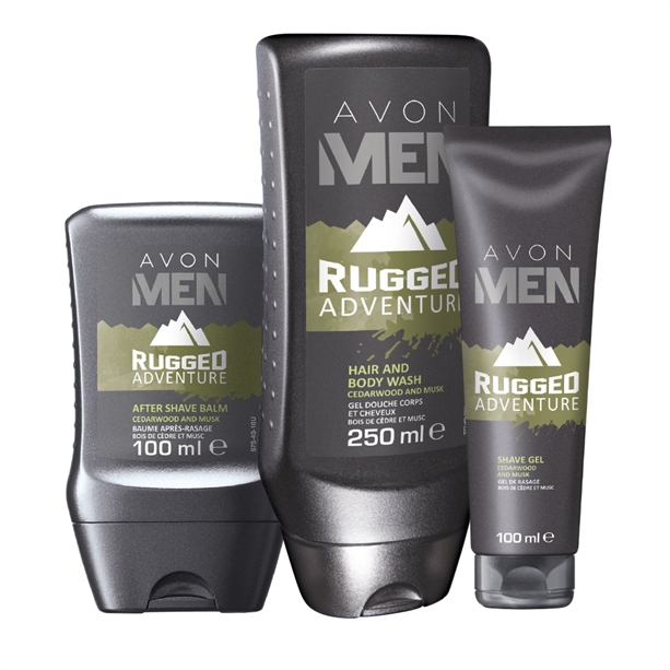 OS - Set 3 produse Avon Men Rugged Adventure - Catalog Avon
