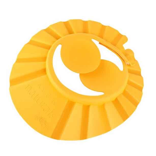 Casca protectie pentru clatire cu aparatoare de urechi Naturals Kids - portocaliu - Catalog Avon