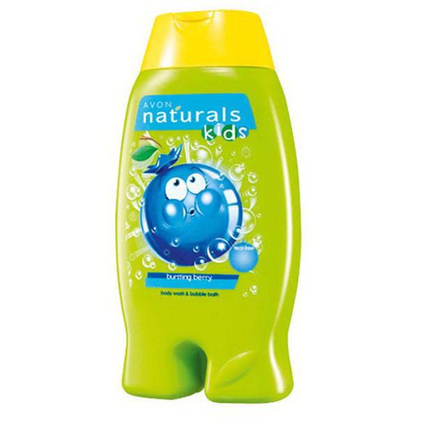 Gel de dus si spumant de baie pentru copii cu aroma de coacaze Naturals Kids - Catalog Avon